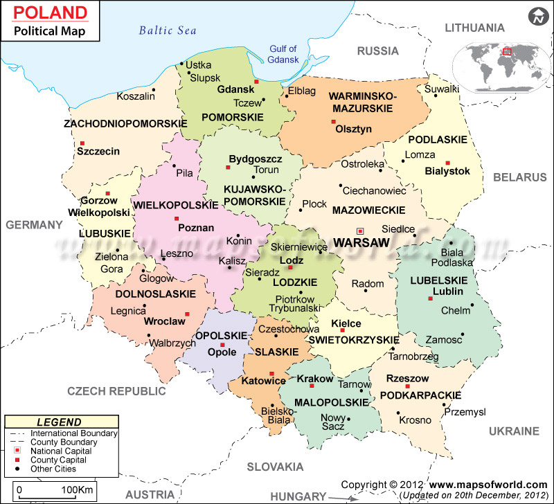 Geography and Environment - Poland on